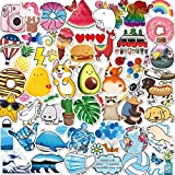 ANERZA VSCO Stickers for Hydro Flask, 100 pcs Cute Aesthetic Vinyl Stickers for Hydroflask Water Bottles Laptop Computer Skateboard, Waterproof Decal Stickers for Kids Women Adults, Teen Girl Gifts