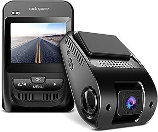 """車ダッシュカム–2.3"""" LCD画面FHD 1080p車カメラSonyイメージセンサー、スーパーHDナイトビジョン車DVR、150度広角レンズ、Hdr、Gセンサーループ録画、WDR Novatek nt96655チップ。"""