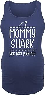 Mommy Shark - Ladies Maternity Tank