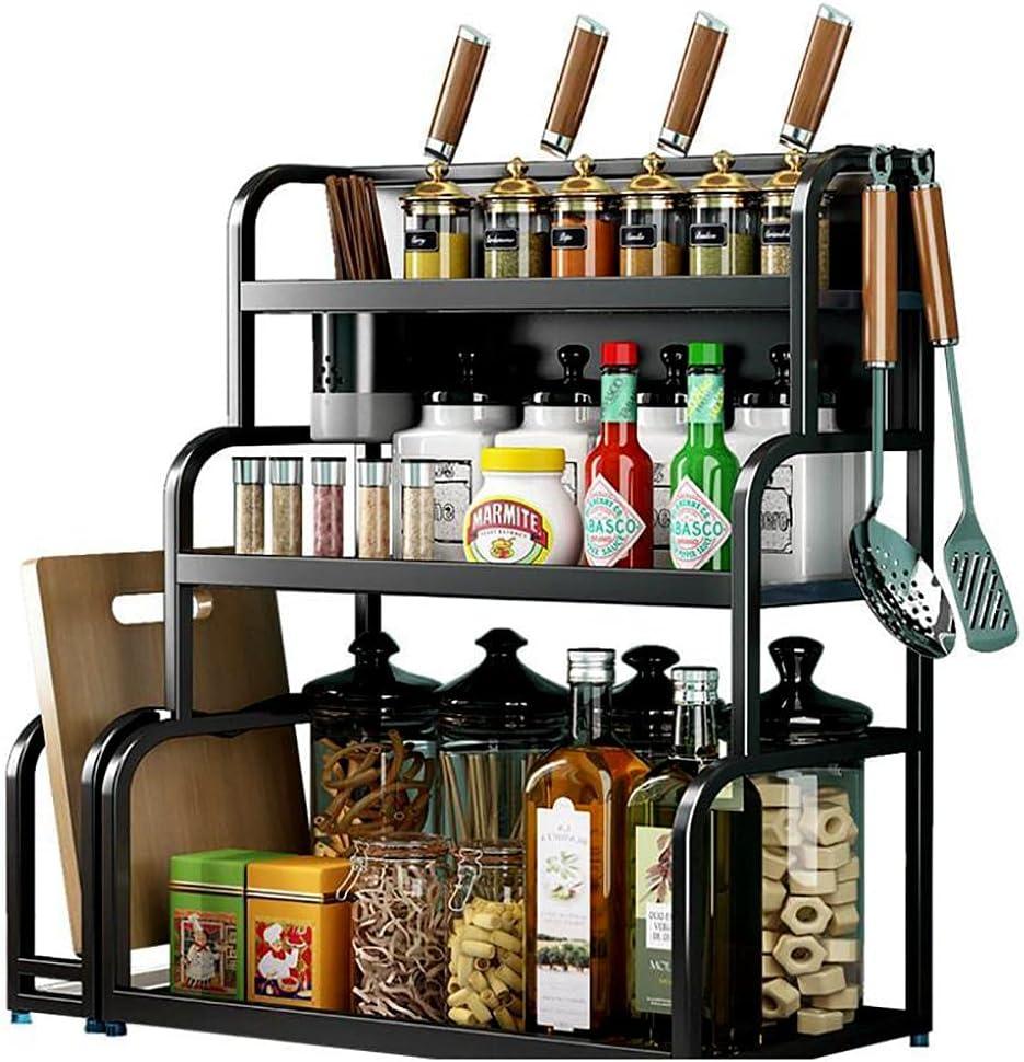 2-Tier Kitchen Spice Popular shop is the lowest price challenge Rack Utensil Louisville-Jefferson County Mall Holder Freestandin Countertop