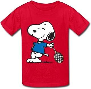 Kid's Designer Snoopy T-shirts By Mjensen
