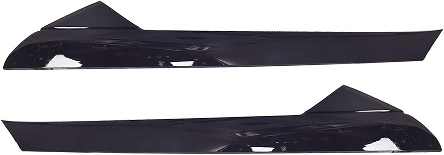 RainMan S Right /& Left Side Black Pillar Front Molding Windshield Outer Trim Inner Replacement for 2011-2019 Explorer BB5Z-7803145-AA