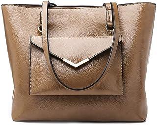 Shoulder Bag Hobos & Shoulder Bags Totes Shoulder Bag Handbag Fashion Women's Handbag Handbag Clutch (Color : Khaki)