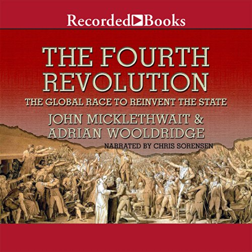 The Fourth Revolution audiobook cover art