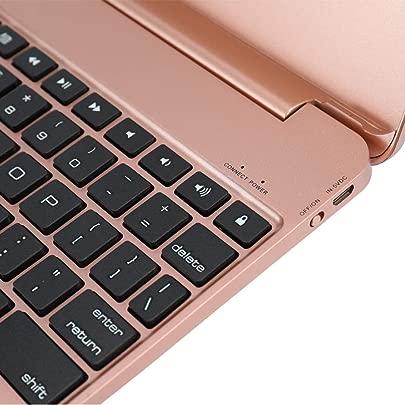Qalabka Notebook Flip Schutzh lle BT 3 0 ultrad nne tragbare drahtlose Tastatur mehr geeignet f r F19B Apple Tablet AIR AIR2 PRO9 7 2017 2018 Schätzpreis : 24,37 €
