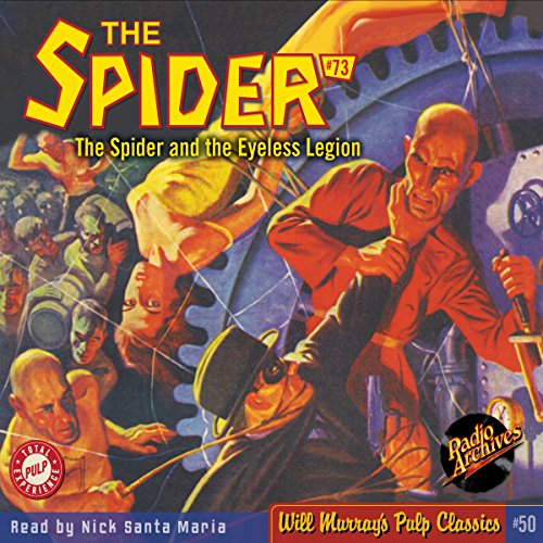 Spider #73, October 1939 cover art