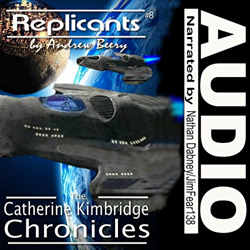 Replicants audiobook cover art