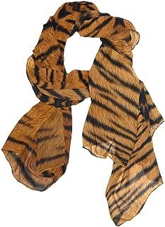 tiger print stole