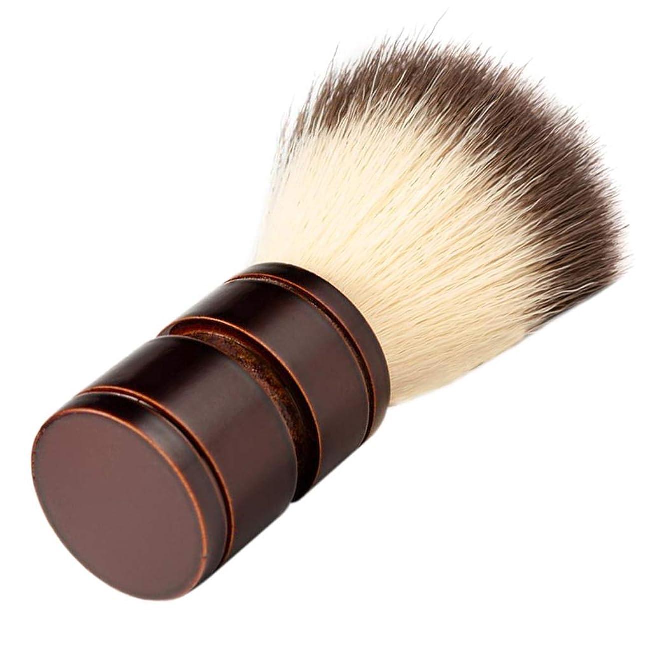 細分化する一流いろいろP Prettyia シェービング ブラシ メンズ ナイロン ひげブラシ 洗顔ブラシ 理容 洗顔 髭剃り 泡立ち