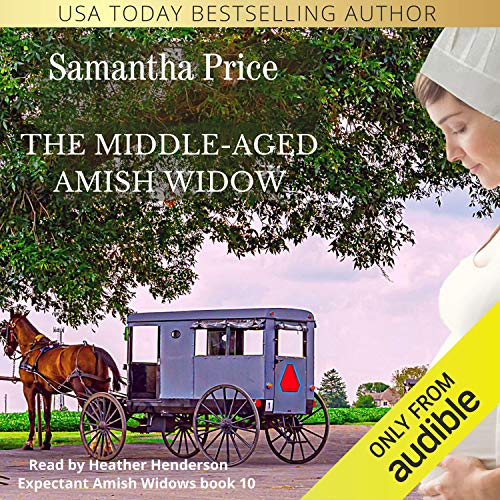 The Middle-Aged Amish Widow audiobook cover art