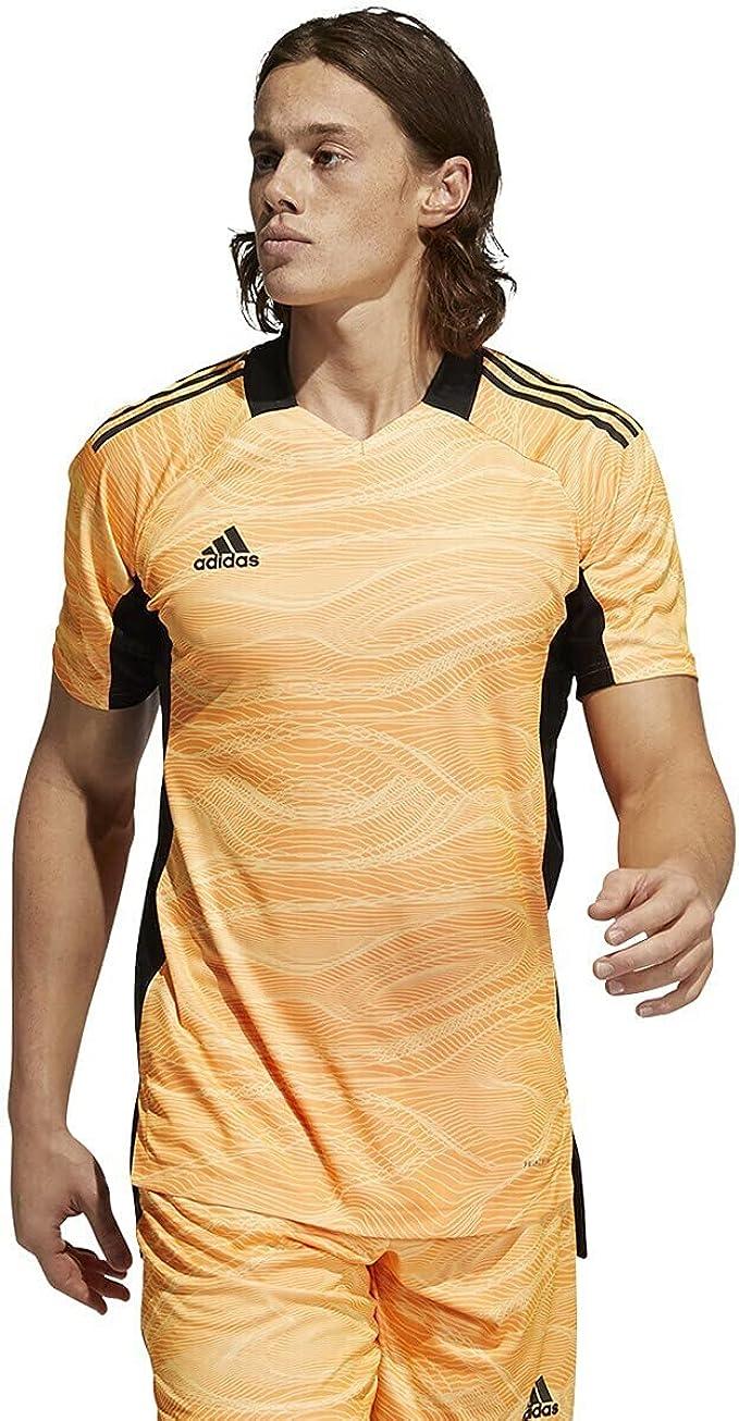 adidas Condivo 21 Acid Orange Short Sleeve Goalkeeper Jersey