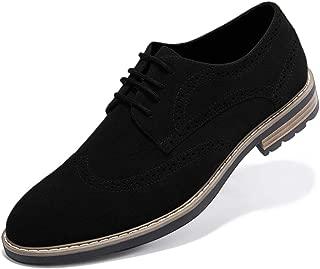 Men's Dress Shoes Lace-up Plain Toe Formal Oxford Shoes