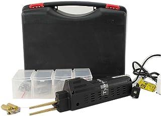 soldador plástico práctico, herramienta de reparación de parachoques del coche, máquina caliente de las