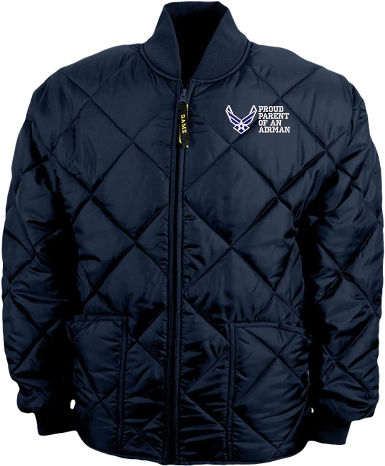 Proud Parent of an Airman U.S. Air Force Game Sportswear Bravest Jacket