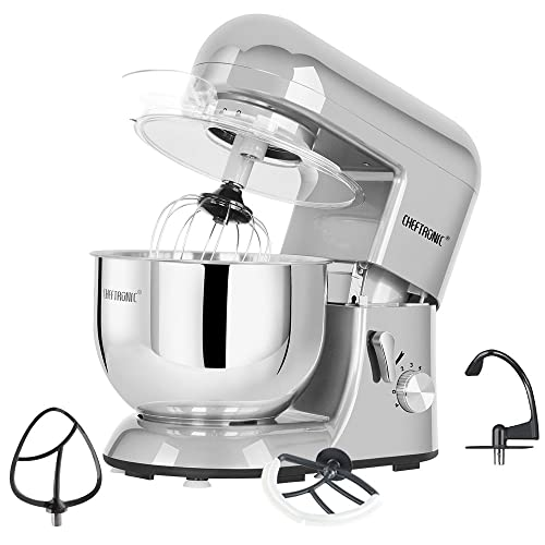 Cheftronic Powerful 650w Planetary Stand Mixer 5.5qt Bowl