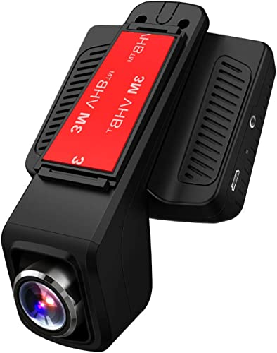 TOGUARD Caméra de Voiture GPS WiFi Grand Angle de 170° Caméra Embarquée Full HD 1080P, Dashcam Voiture avec Objectif ...