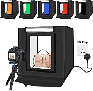 PULUZ 40x40cm 16inch light box Soft box mini studio box softbox 30W Light Photo Lighting Studio Shooting Tent Box Kit