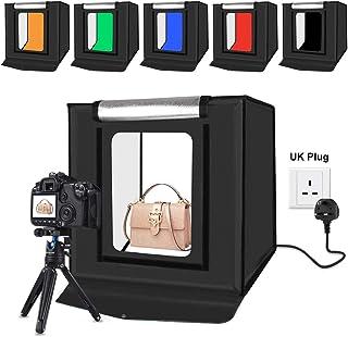 صندوق إضاءة ناعم وصغير للاستوديو بقوة 30 واط لاضاءة الصور من بولوز - 40×40 سم، 16 انش