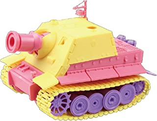 Doyusha Colorful Cute Tank Series No.3 Storm Tiger (Germany) Color-Coded Plastic Model