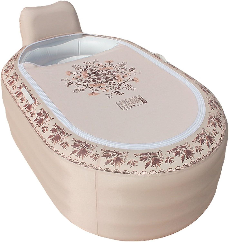 Sunjun& Household European - Style Inflatable Bathtub Folding Tub Wash The Tub Adult Bath Tub Bath Barrels