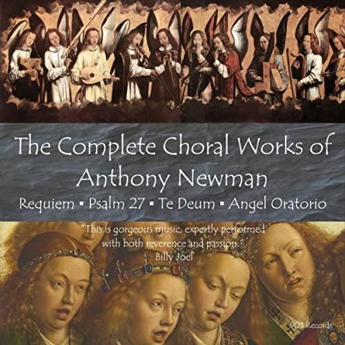 Anthony Newman, Mary Jane Newman, Orchestra and Chorus of Bachworks & Bedford Chamber Orchestra and Chorus