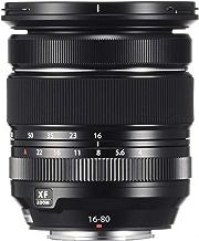 Fujifilm Fujinon Zoom Lens XF16-80mm F4 R OIS WR, Standard Zoom Lens for Fujifilm X Mount Cameras