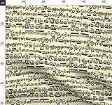 Harmonie, Melodie, Noten, Musik Stoffe - Individuell