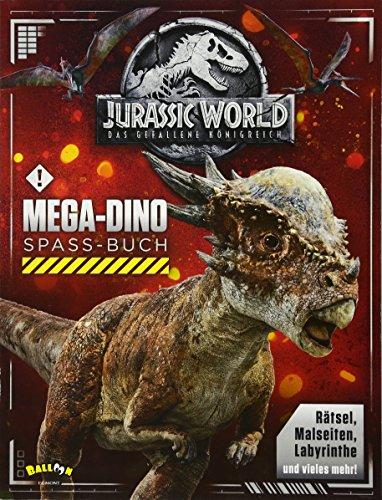 Jurassic World 2 - Das gefallene Königreich: Mega-Dino-Spaß-Buch