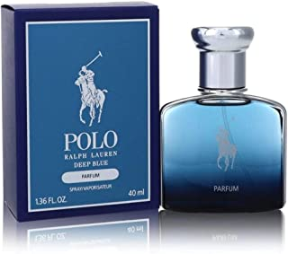 Polo Deep Blue Parfum by Ralph Lauren Parfum 1.36 oz Men