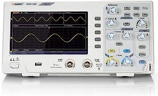 OWON SDS1102 Oscilloscope 2-Channel Digital Oscilloscopes 100MHZ Bandwidth 1GS/s