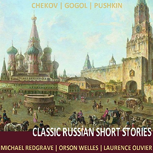 Classic Russian Short Stories audiobook cover art