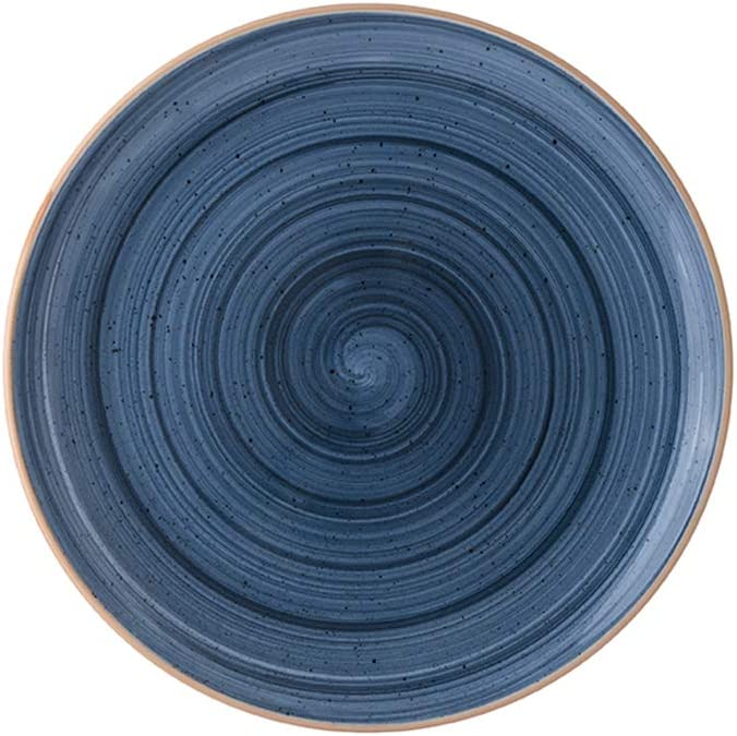 Spring new work Turgla Home Sale Special Price Night Blue Bread+Butter Plate 6.75x6.75 Round 6.75