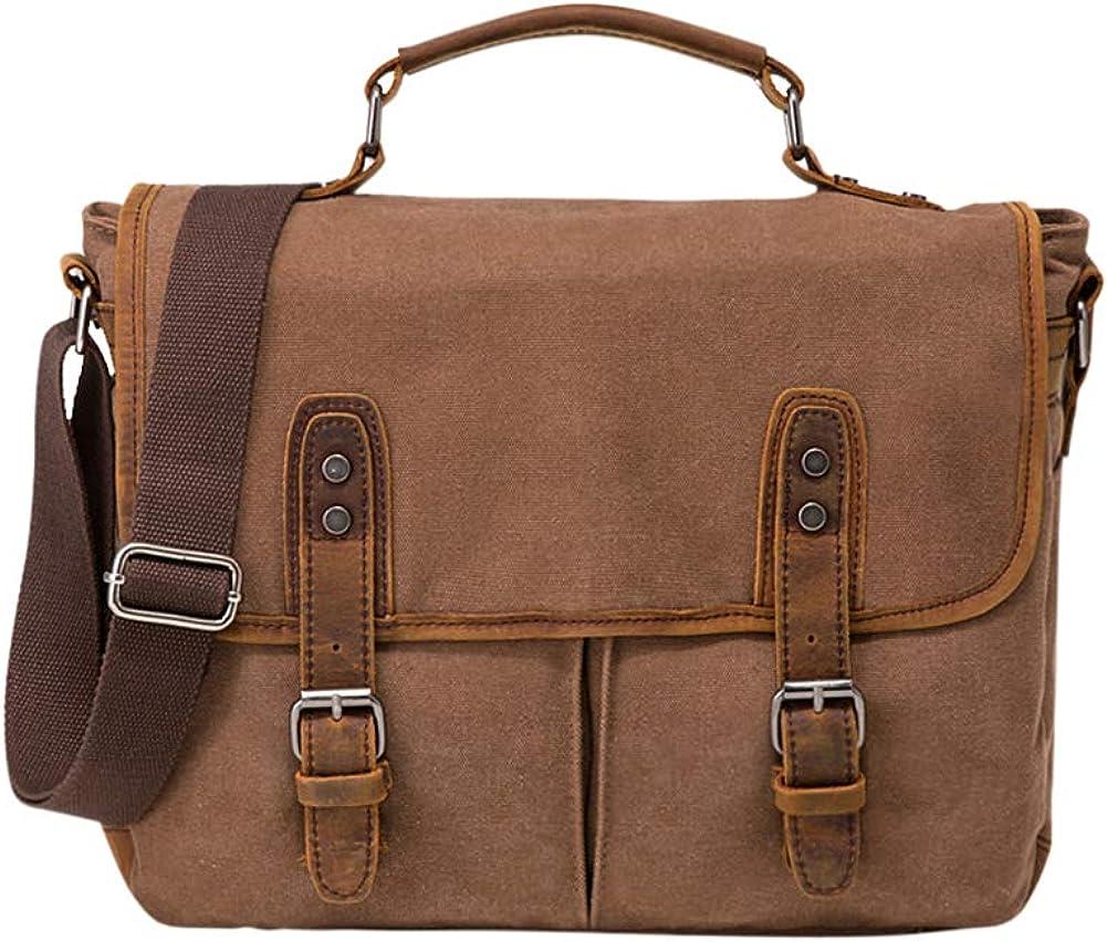 Vooo4cc shop Latest item Canvas Crossbody Bag Messenger Unisex Retro Fashion