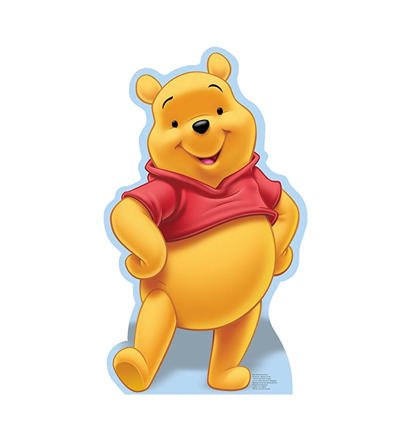 Advanced Graphics Winnie the Pooh Life Size Cardboard Cutout Standup - Disney's Winnie the Pooh