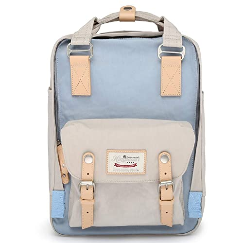 a75e68fd39b1 Himawari School Functional Travel Waterproof Backpack Bag for Men   Women