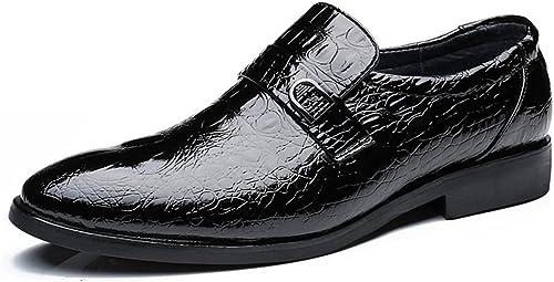 Z.L.F Schuhe Herren Business Oxford Stil Krokodil Echtes Leder Klassische Mode Formale Schuhe Lederschuhe