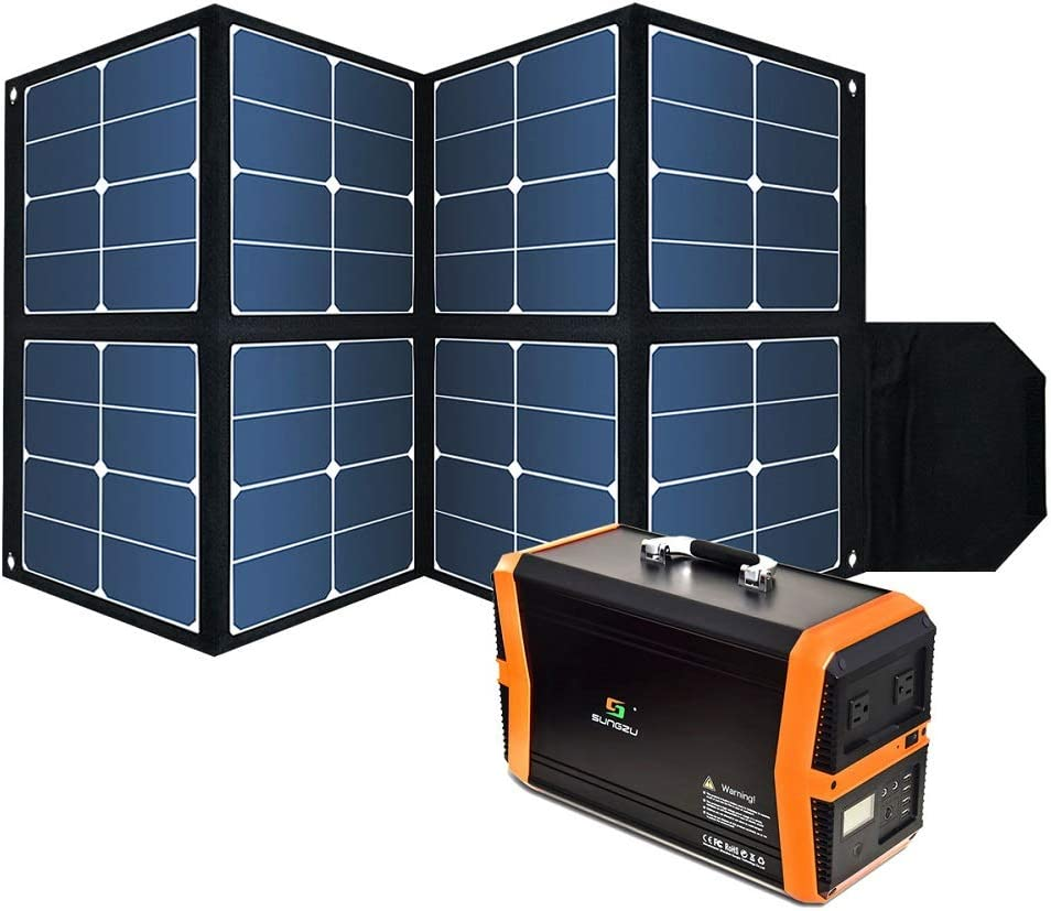 Foldable 100W Solar Panel Waterproof ☆送料無料☆ 当日発送可能 Portable 売買 Power