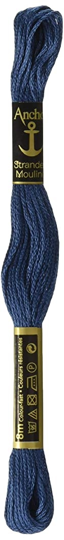 Anchor Six Strand Embroidery Floss 8.75 Yards-Antique Blue Very Dark 12 per box