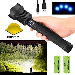 100000 Lúmenes XLamp Xhp70.2 Potente Linterna LED Zoom Anto
