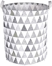 Large Laundry Bag Clothes Storage Baskets Home Clothes Print Bags Kids Toy Storage Household Folding Laundry Basket (Color...