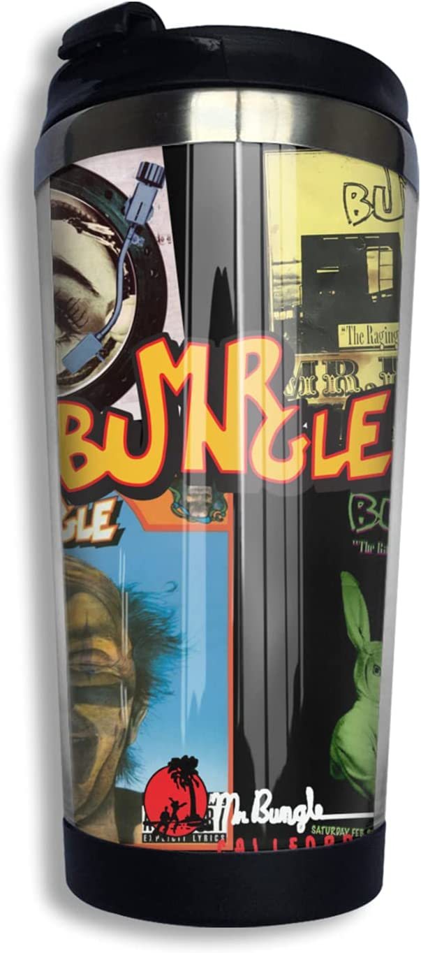 Mr. Bungle Insulated 2021 model Tumblers Brand new Coffee Thermos Lid Travel With Mug