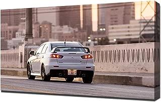 Lilarama USA 2015-Mitsubishi-Lancer-Evolution-X-Final-Edition-V8 Canvas Art Print - Wall Art - Canvas Wrap