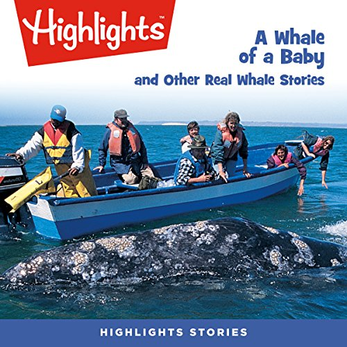 A Whale of a Baby and Other Real Whale Stories audiobook cover art