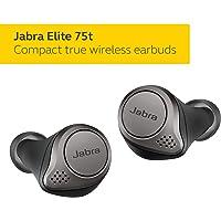 Jabra Elite 75t True Wireless Earbuds with Charging Case (Titanium Black)