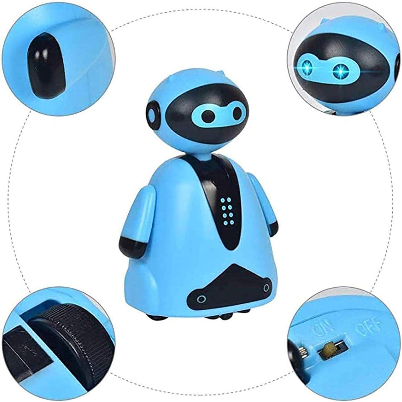 Robot Suivant la Ligne Excellent Cadeau pour Les Enfants Feilium Robot de Dessin Au Trait Marche de Robot Inductif Magique Suivez Le Dessin au Trait avec Capteur de Lumi/ère Cr/éatif