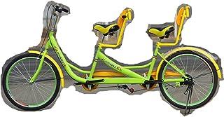 Tandem Bike, Mountain Bike City Bicycle for Adults, Parent-Child Riding Couple Entertainment Universal Wayfarer Mountain R...