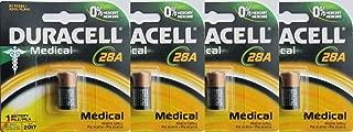 4 Pcs Duracell PX28A Alkaline Medical Battery 6V A544 4LR44 28A