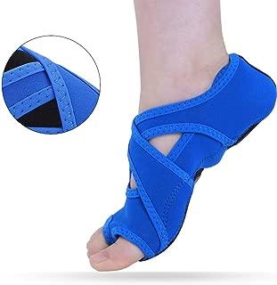 Tbest Zapatillas Calcetines de Yoga Antideslizantes,