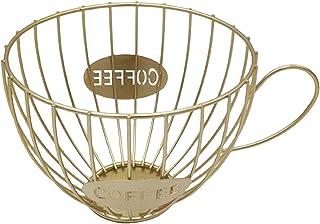 Baoblaze Support à dosette Panier Transparent Noir Argent à Capsules de café est soigneusement conçu AVCE Petit carré en M...