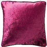 McAlister Textilien glänzend Samt Fuchsia Pink Kissen 60x60 cm Deko Couchkissen aus Samt weich edel...